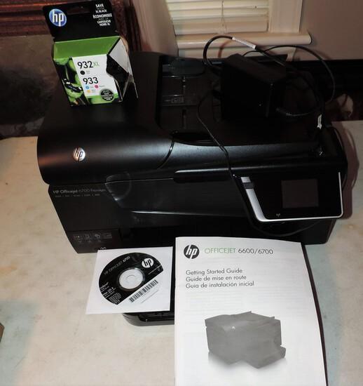 Hewitt Packard Officejet 6600/6700 Printer