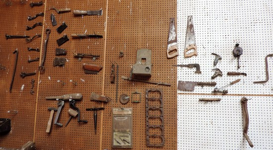 Large Lot of Antique Tools