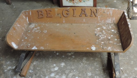 Handmade Buggy Seat