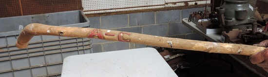 Allis Chalmers Hand Carved Walking Stick