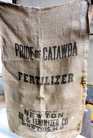 Original Pride of Catawba Fertilizing Company Sack