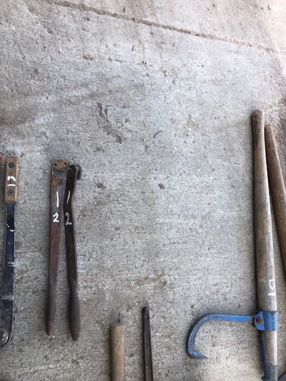 (2) SAW WRENCHES