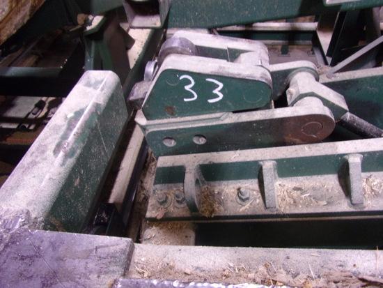 CLEEREMAN BAR LOG TURNER W/CONTROL VALVE IN CAB