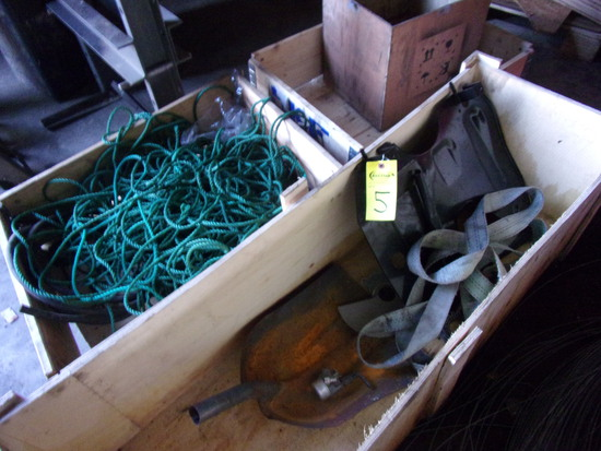 (3) WOODEN BOXES & CONTENTS