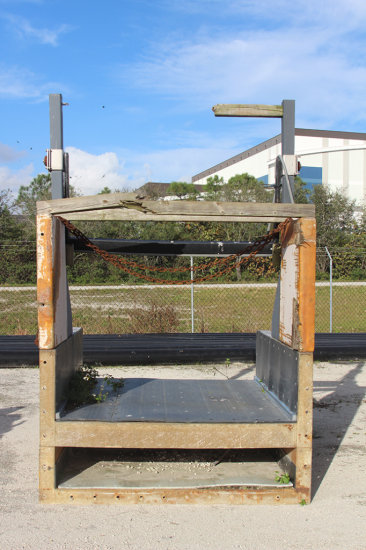 Metal Detection System for Woody Waste System