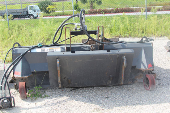 2012 Sweepster - Hydraulic Sweeper Attachment