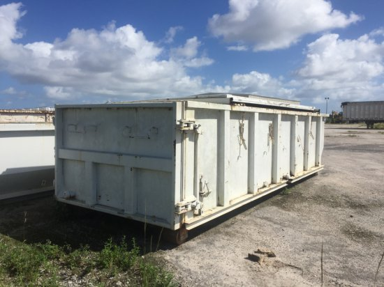 Roll Off Container 25 Yd With Lid