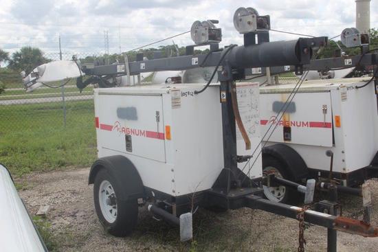 2013 Magnum MLT 3060K-01  Light Tower/ Generator 6KW
