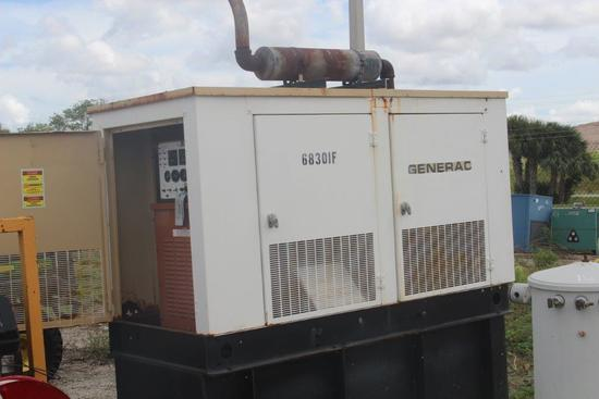 2007 Generac SD030-97A02703-S 30KW Back Up Generator