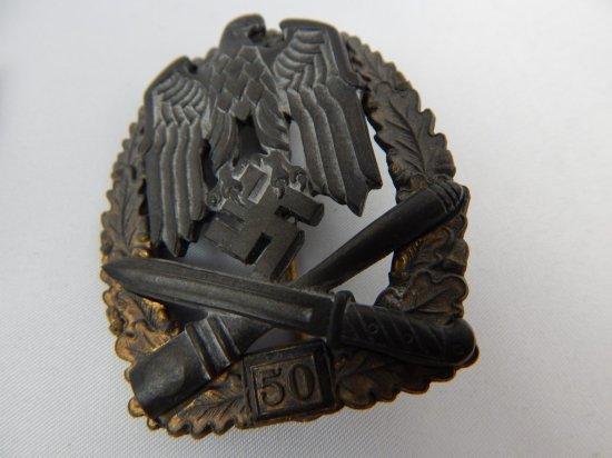 2 VINTAGE ORIGINAL GERMAN PINS