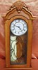 QUARTZ WESTMINSTER CHIME OAK WALL CLOCK