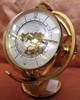 IMEXAL 15 JEWEL WORLD BRASS CLOCK