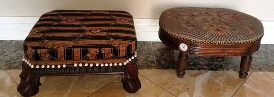 PAIR OF ADORABLE FOOT STOOLS