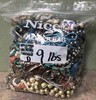 BIG OF ASSORTED COSTUME JEWELRY 9 POUNDS - LOT D