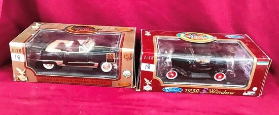 LOT OF(2) DIE CAST CARS