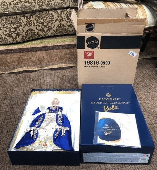 FABERGE IMPERIAL COLLECTIBLE BARBIE W/ ORIGINAL BOX