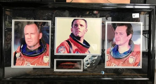 SIGNED FRAMED PHOTOS BY CAST OF ARMAGEDDON MOVIE