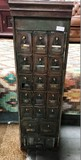 ANTIQUE BRONZE POST OFFICE MAIL BOX -MUST SEE