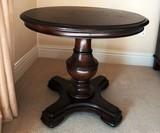 ROUND THOMASVILLE PEDESTAL TABLE LAMP