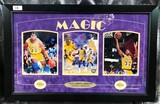 SIGNED LAKERS ARTWORK BY