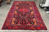 ANTIQUE, MADE IN IRAN HAND MADE AREA RUG