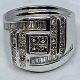 14KT WHITE GOLD 2.60CTS DIAMOND RING