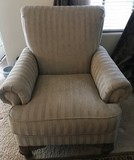 BEAUTIFUL SINGLE CUSTOM MADE OCCASIONAL CHAIR BY  SCHNADIG