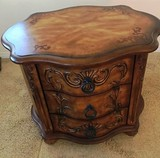 BEAUTIFUL 3 DRAWER CHEST COMMODE