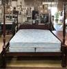 CALIFORNIA KING 4 POSTER BED W/ MATT & BOX