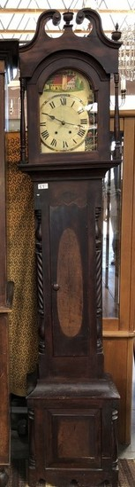 ANTIQUE GRANDFATHER CLOCK  - SEE PICS FOR DETAILS