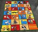 NEW KIDS 5'X7' AREA RUG - ANIMAL ABC'S