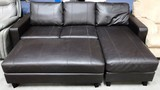NEW ABBYSON LIVING SECTIONAL COUCH W/ STORAGE OTTOMAN (699.00)