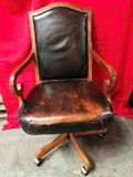 LIKE NEW QUALITY EXECUTIVE OFFICE CHAIR (2 OF 2)