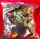 9.0 POUND LOT OF ASSORTED COSTUME JEWELRY FROM ESTATE