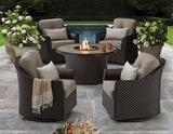 BRAND NEW 5PC FIRE PIT PATIO SET - AGIO HERITAGE COLLECTION - (1,799.00)