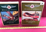 LOT OF TWO NEW COLLECTIBLE TEXACO DIE CAST PLANES IN BOX