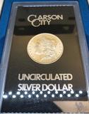 1882 UNCIRCULATED CARSON CITY SILVER DOLLAR