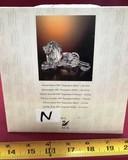 SWAROVSKI CRYSTAL LION WITH ORIGINAL BOX