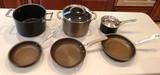 LOT OF (6) CIRCULON POTS & PANS