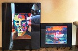SIGNED & NUMBER COLORFUL LACQUER ARTWORK FROM ESTATE