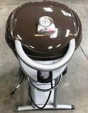 LIKE NEW CHAR-BROIL PATIO BISTRO GRILL ON STAND - BROWN