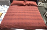 PAIR OF COMFY BLANKET &  PILLOWS W/ NANCY KOLTES PILLOW CASES