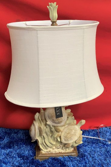 "31"" TALL TURTLE TABLE LAMP BY STYLE CRAFT ($59.95)"