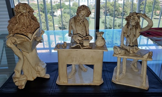 LOT OF THREE - MADE IN ITALY FIGURINES