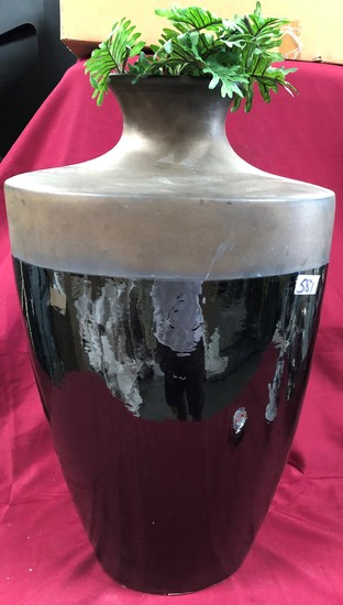 """28"""" TALL TWO TONE VASE"""