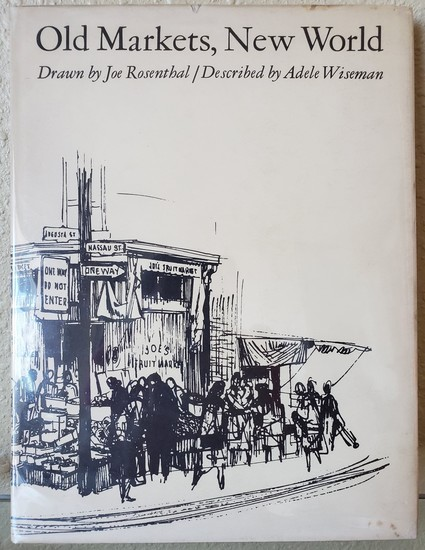 """""""OLD MARKET, NEW WORLD"""" SIGNED BOOK -SEE PICS FOR DETAILS"""