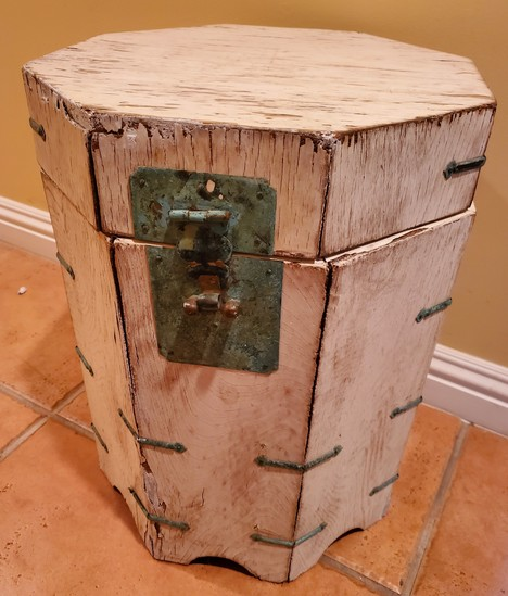 """17"""" ALL WOOD STORAGE TABLE"""