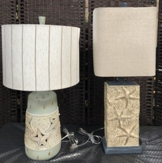 LOT OF (2) NEW LAMPS FROM THE WMC  - OVER 100.00 WHOLESALE