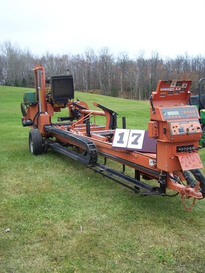 Wood-mizer Super Hydraulic Lt40 Sawmill