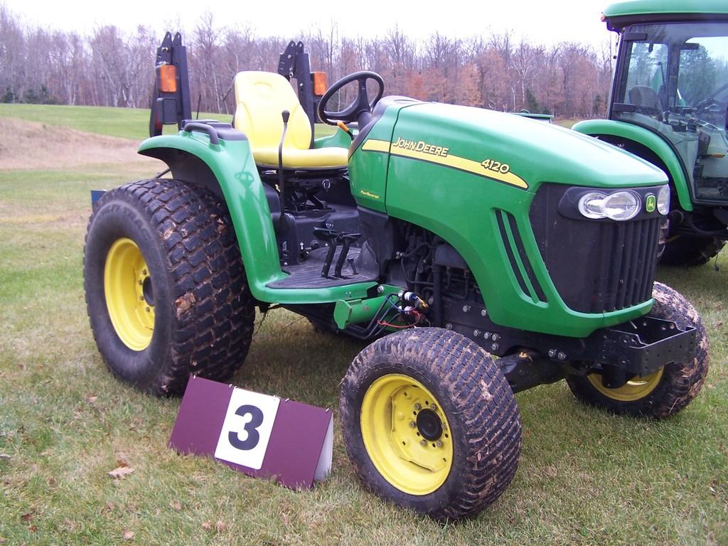 John Deere 4120 Compact Diesel